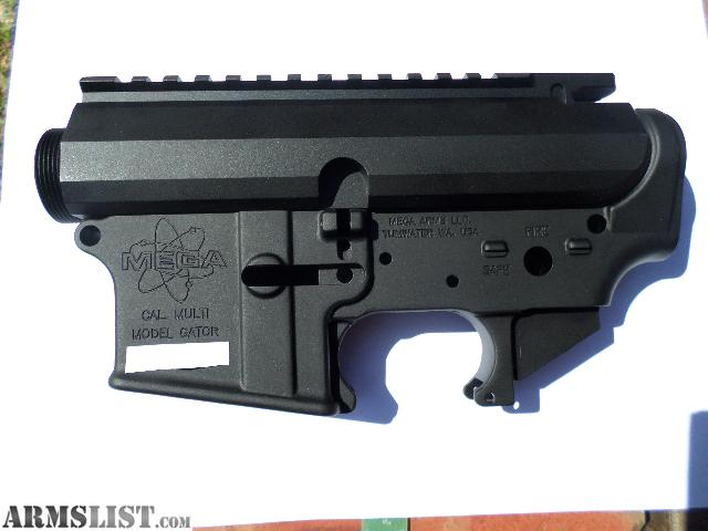 Billet Lower Receiver With Forged Upper Lower is Forged Gator Upper