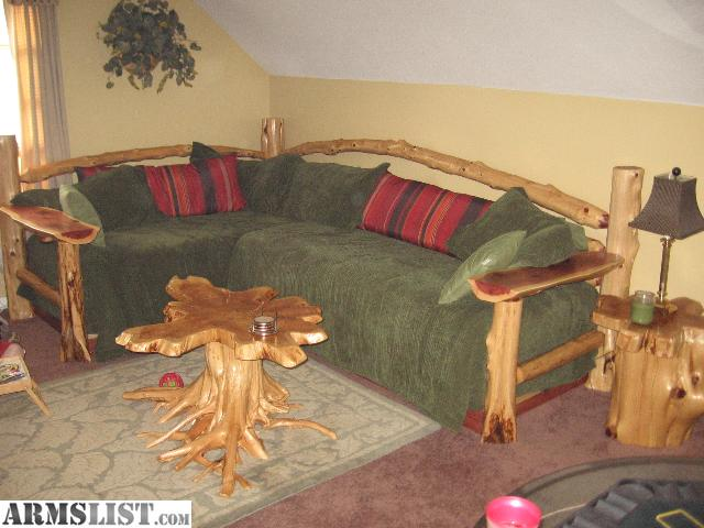 Man Caves For Sale : Armslist for sale log man cave furniture and beds