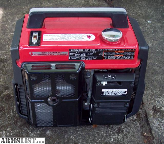 Honda Generators For Sale Near Me >> ARMSLIST - For Sale: in the roseburg honda generator portable ex1000 watt runs great low hours ...
