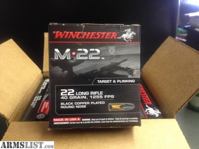 For Sale: 22LR AMMO FOR SALE 3 DIFFERENT KINDS