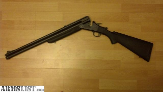 For Sale: Savage Arms 24F 12G/22H Combo gun