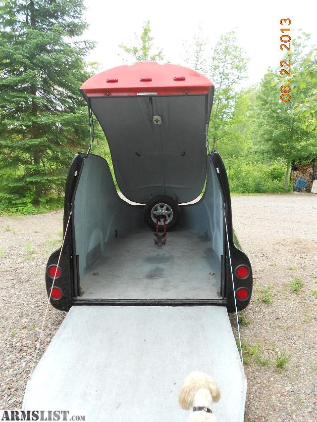 Motorcycle  Enclosed Motorcycle Trailer