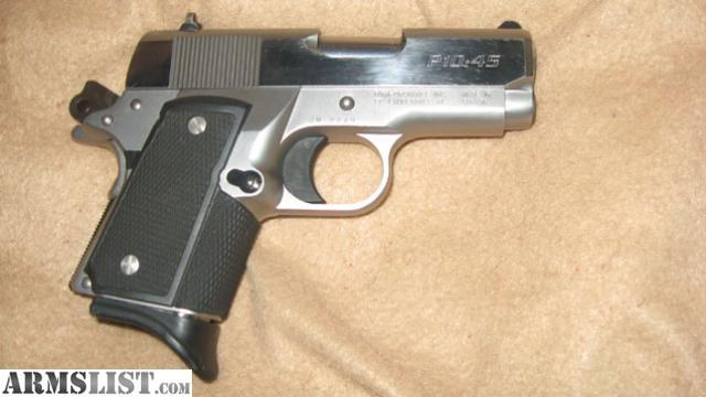 Armslist for sale trade p10 45 worlds smallest 1911 style 45