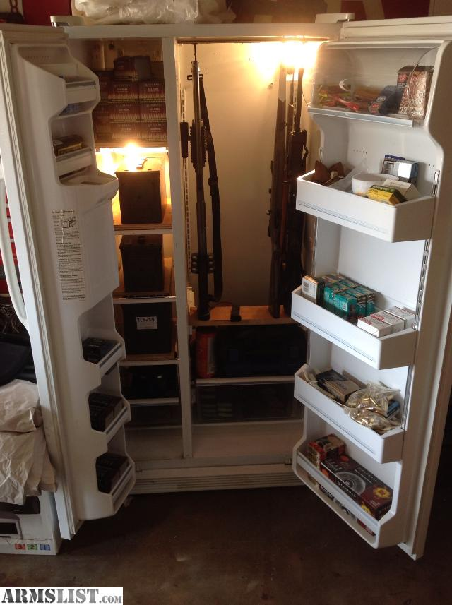Anybody Ever Made A Gun Safe Out Of An Old Refrigerator