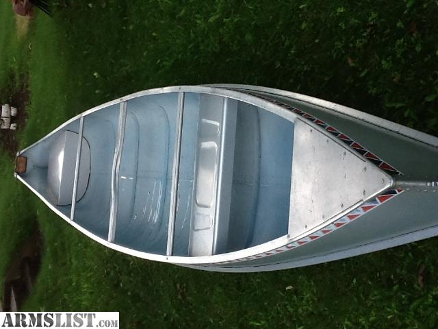 alumacraft canoes for sale