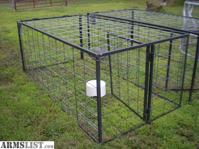 how to build a snare trap for hogs