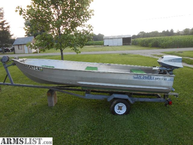 Starcraft aluminum fishing boats for sale new and used for Used fishing boats