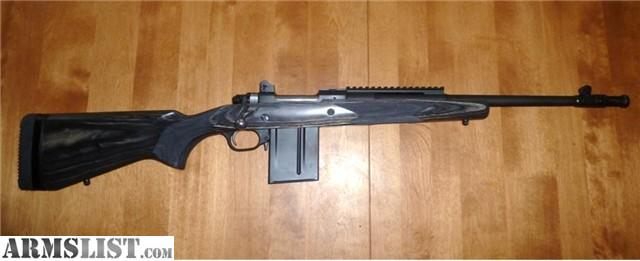 armslist for sale ruger gun site scout 308 rifle with bipod
