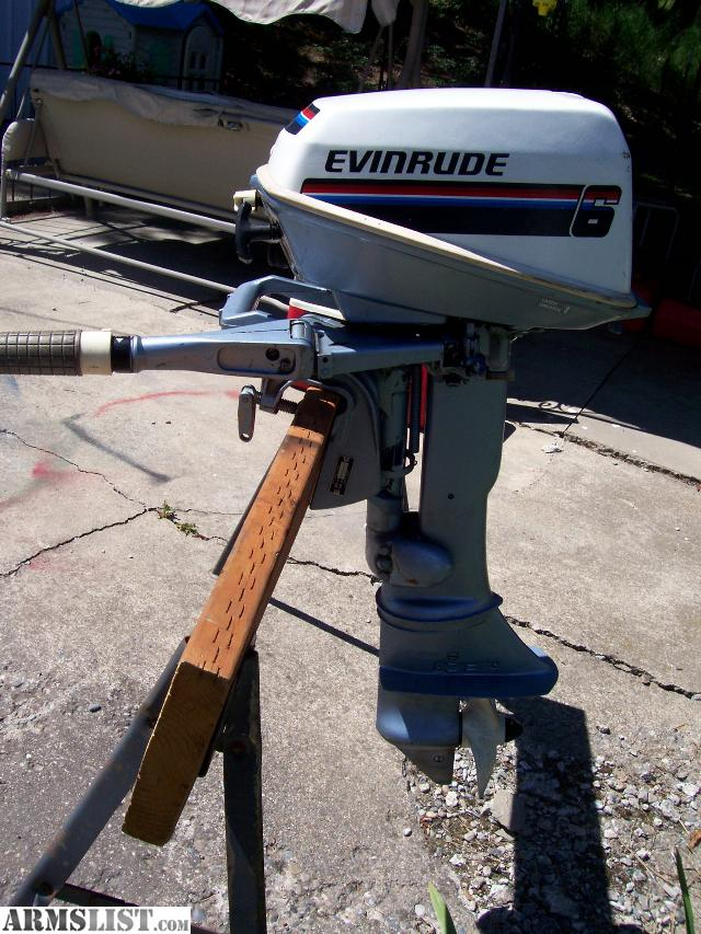 Armslist For Sale Trade Clean 6hp Evinrude Outboard