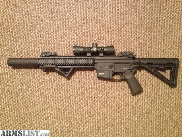 ARMSLIST - For Sale: Smith and Wesson M&P 15-22 threaded ...