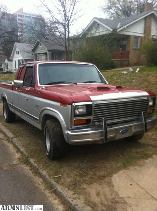 armslist for sale 1984 ford f150 1200 obo. Black Bedroom Furniture Sets. Home Design Ideas