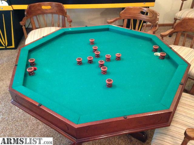 Armslist for sale trade bruswick 3 in 1 poker bumper pool table - Bumper pool bumpers ...