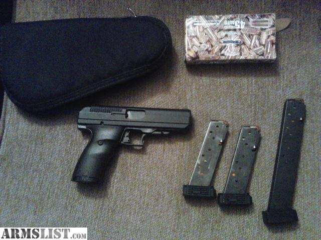 ARMSLIST - For Sale: Hi-Point 45 auto with extended clip