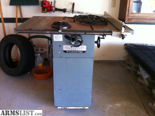 Armslist For Sale Contractors Table Saw
