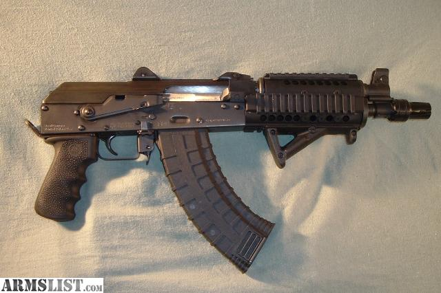 For Sale: NEW - Zastava PAP M92 PV Tactical AK-47 Style Pistol in 7