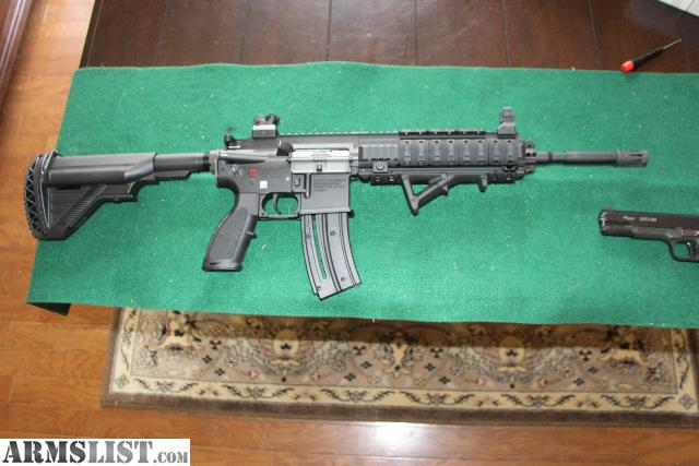 ARMSLIST - For Sale: Walther HK416 D10RS 22LR with 4 extra mags