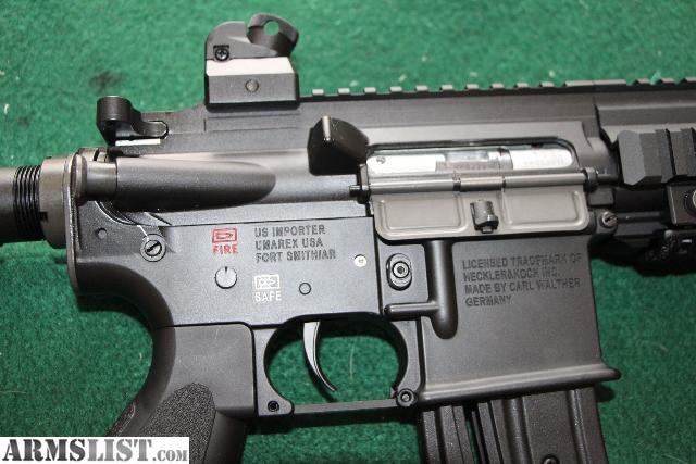 Walther HK416 D10RS, less than 250 rnds shot with 4 extra mags. $450 ...