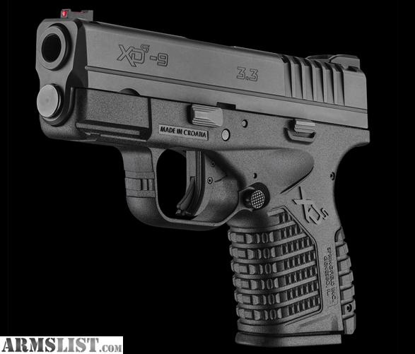 Springfield 9mm xd Price New Springfield Xd-s 9mm