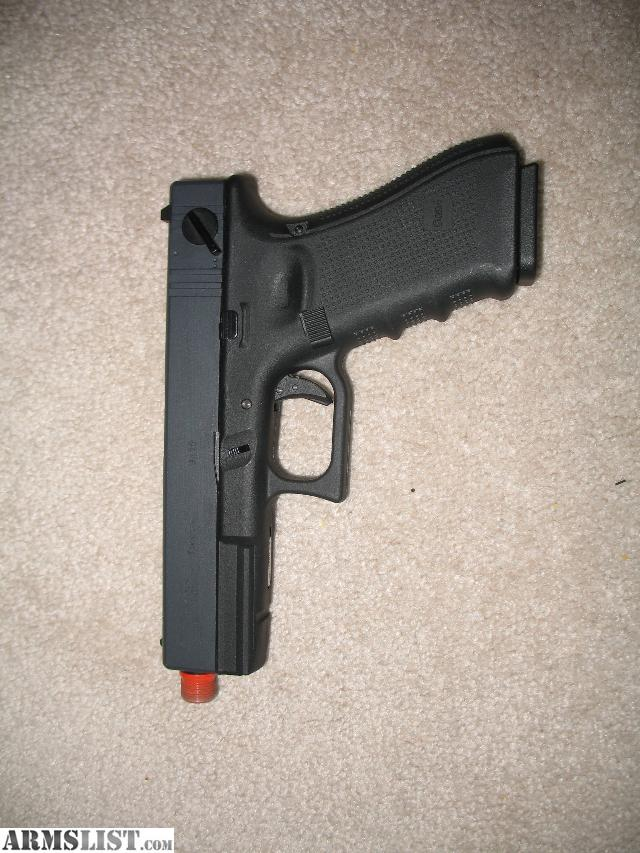 ARMSLIST - For Sale: Airsoft WE Glock 18C