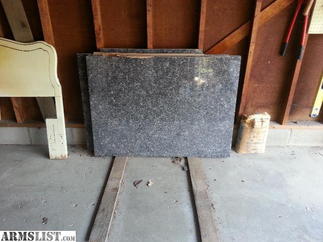 Armslist for sale trade 3x4 foot by 1 inch thick black for 2 thick granite