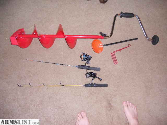Armslist for sale ice fishing equipment for Ice fishing stuff