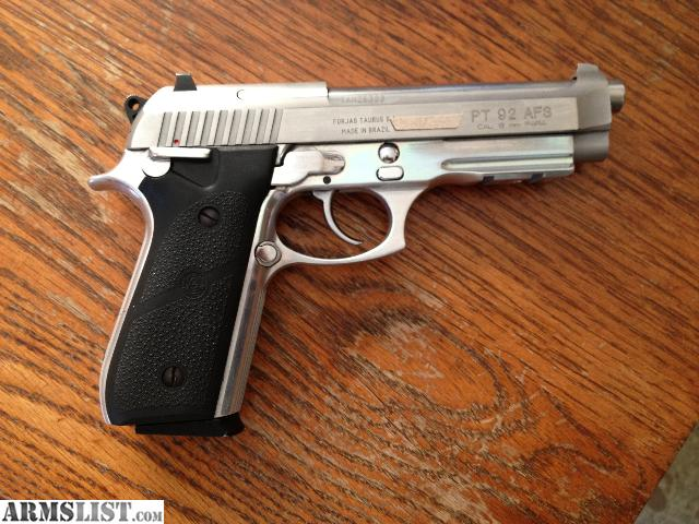 ARMSLIST - For Sale/Trade: ** FS/FT TAURUS PT92 AFS **