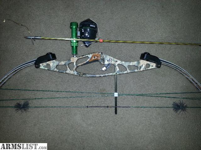 armslist for trade hoyt protec xt2000 bow fishing set up