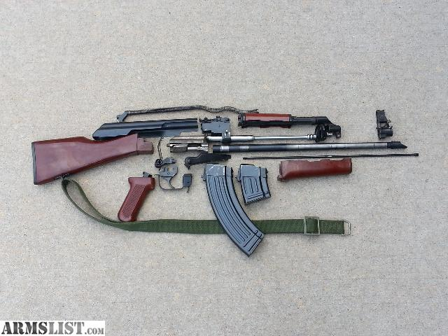 Ak 47 Parts Kit With Barrel Installed