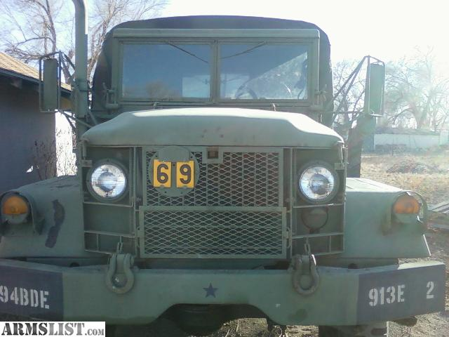 Armslist for sale 1970 deuce and a half m35 a 2 for Local motors pueblo co
