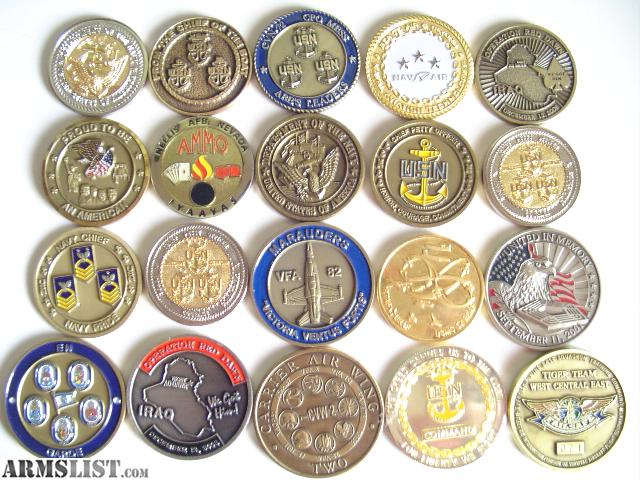 Armslist For Trade Rare Military Challenge Coins