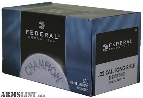 18 kB · jpeg, Armslist for sale 1000 rounds federal 22lr ammo my cost