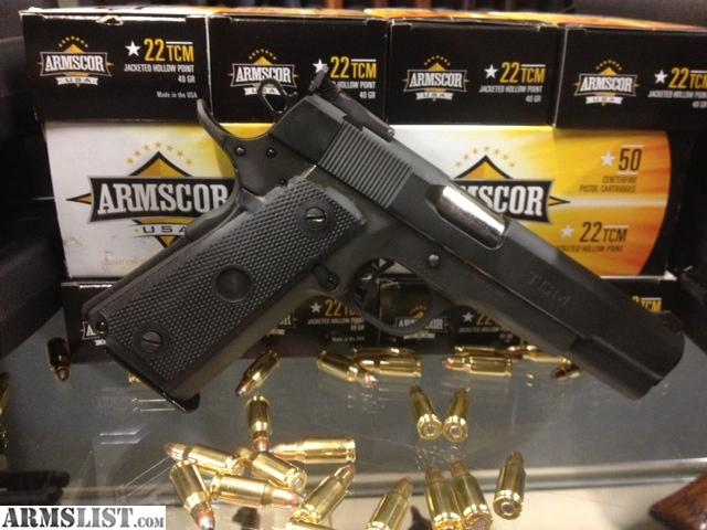 Armscor 1911 tcm for sale armslist for sale armscor 22tcm 9mm 1911