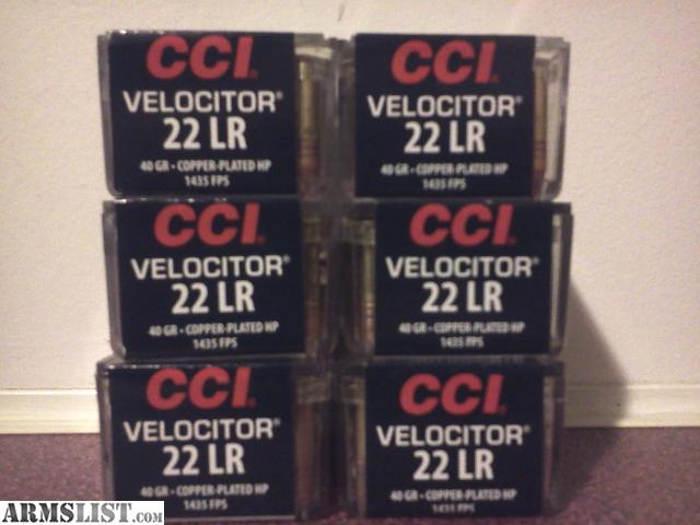 For Sale: .22LR CCI VELOCITOR