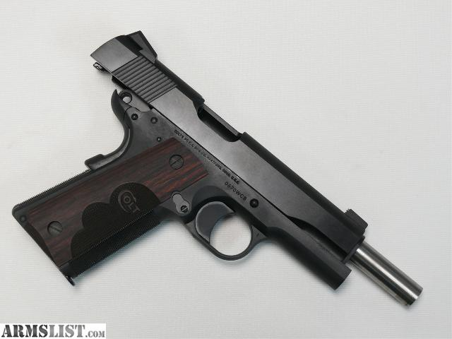Armslist for sale new colt 1911 wiley clapp government talo edition