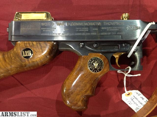 """Thompson Gun For Sale >> ARMSLIST - For Sale: World War II Commemorative Thompson """"Tommy Gun"""" in a 45 cal"""