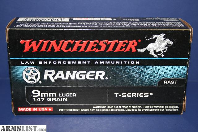 For Sale/Trade: 2 BOXES - 100rds Winchester Ranger Talon RA9T 9mm HP