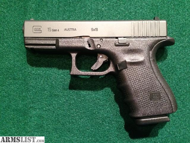 armslist for sale glock 19 gen 4 mint