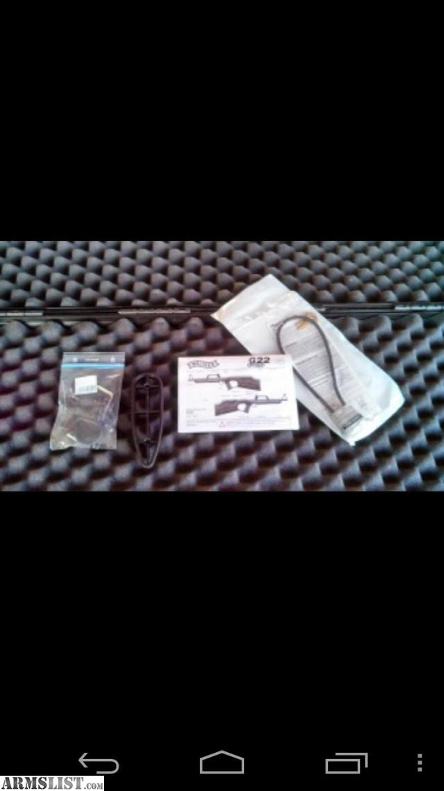 ARMSLIST - For Sale/Trade: Walther G22 Case w/Paperwork