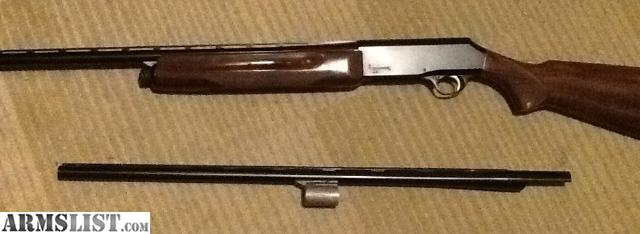 ARMSLIST - For Sale/Trade: Browning b-80 12 ga with 2 barrels