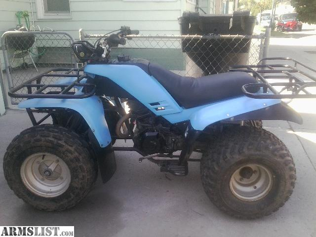 armslist for sale trade yamaha 225 4 wheeler. Black Bedroom Furniture Sets. Home Design Ideas