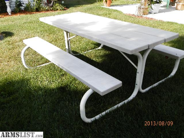 Armslist For Sale 6ft Picnic Table