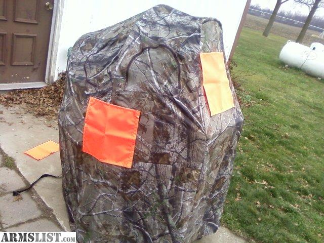 ARMSLIST For Sale Ameristep One Man Chair Blind Used Once