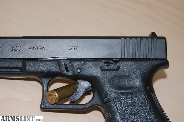 ARMSLIST - For Sale: Glock 32c .357 Compensated, extended ...