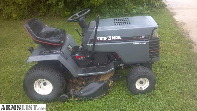 Armslist For Sale Craftsman Riding Lawn Mower