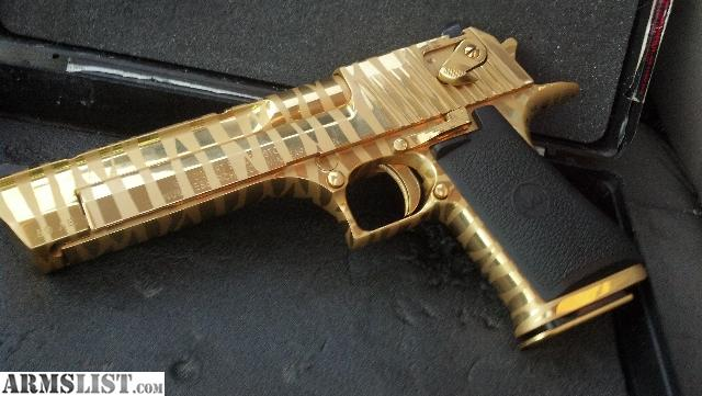 Desert Eagle Gold Tiger Stripe