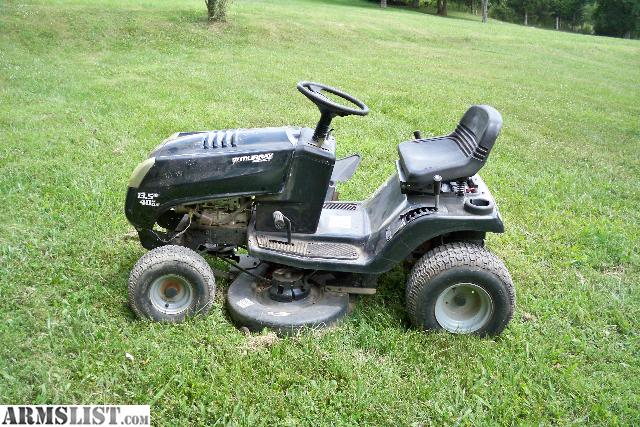 armslist for sale trade murray riding lawn mower. Black Bedroom Furniture Sets. Home Design Ideas