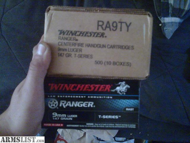 For Sale: RA9T WINCHESTER 147gr 9mm JHP 50rd boxes