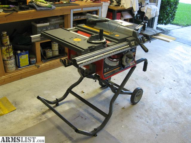 Armslist For Sale Trade Craftsman Professional Portable Table Saw Plus Combination Router Bits