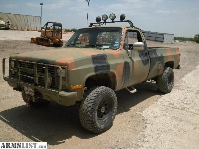 sale 1984 chevy m1008 m1008 trucks for sale for sale 1984 chevy m1008