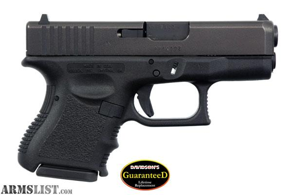 ARMSLIST - For Sale: Glock 26 9mm GREAT PRICE CONCEAL CARRY